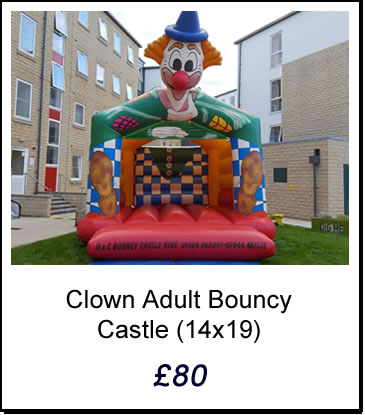 Adult Bouncy Castle Hire Huddersfield