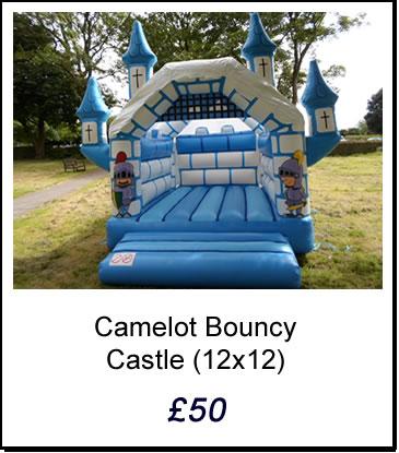 Blue Camelot Castle