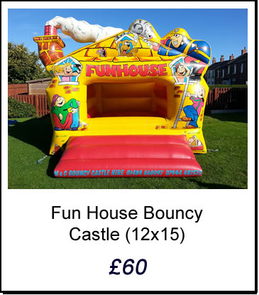 Fun House Bouncy Castle