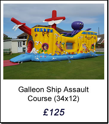 Inflatable Assault Course Huddersfield