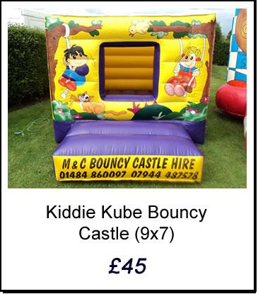 Kiddie Kube Bouncy Castle
