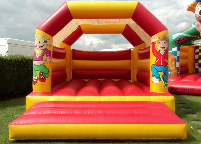 Red & Yellow Bouncy Castle
