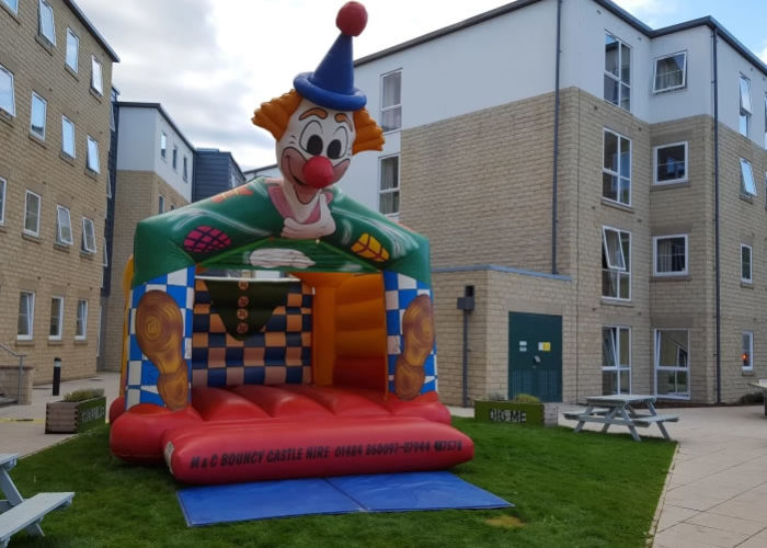 adult bouncy castle hire