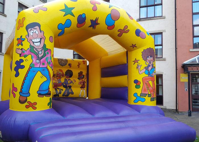 bouncy castle hire huddersfield adult disco
