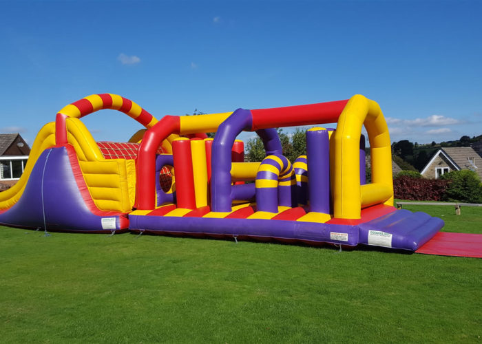 Inflatable Assault Course Huddersfield