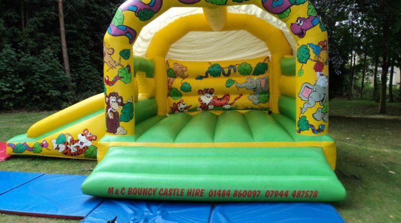 bouncy castle slide