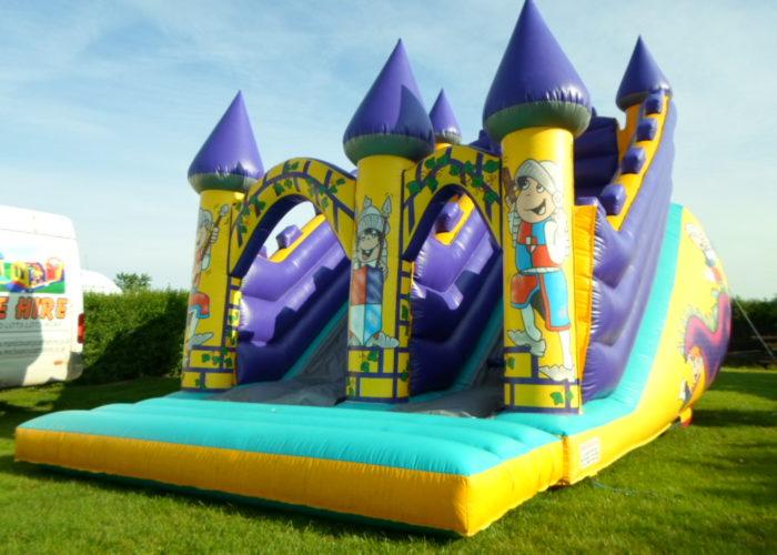 M&C Bouncy Castle Hire Dragon Slide