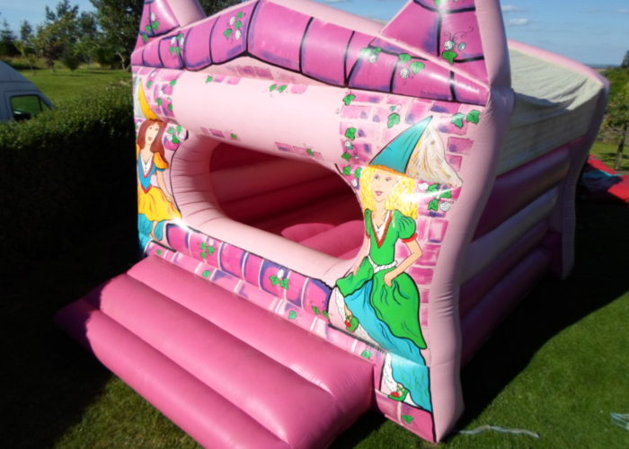 girly bouncy castle