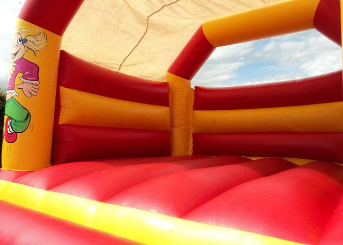 Red & Yellow Bouncy Castle Huddersfield